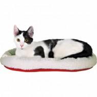 Oval katte- eller hundeseng