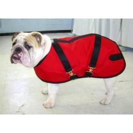 Foggy Mountain Nylon vinterfrakke Engelsk Bulldog Rød