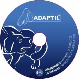 ADAPTIL lyd-CD, fyrværkeri og torden