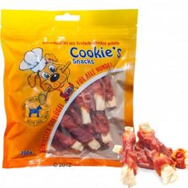 Cookie's Snacks  Kylling og sej fisk - produceret i Tyskland