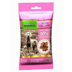Natures Menu Barf bites - Treats with lamb  60 gr. - Produceret i England