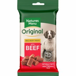 Natures Menu - Beef treats  85g. - Produceret i England