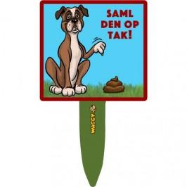 """""""Saml op efter din hund""""- skilte"""