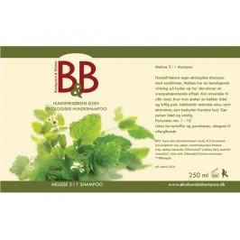 B&B Lemon Melisse 2 i 1 shampoo