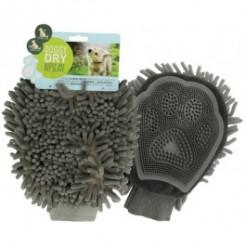 Doggy Dry handske - inkl. hårfjerner