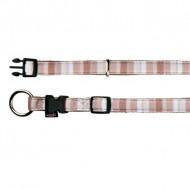 Trixie Halsbånd Impression stripes taupe
