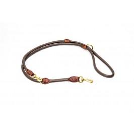 Timely læderline  Paris - brun