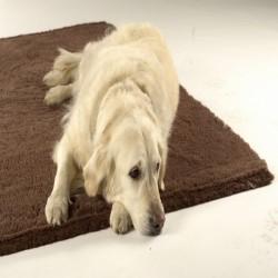 Vet bed tæppe brun