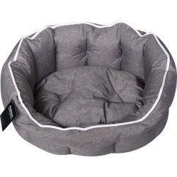 Hundeseng Buddy oval - grå