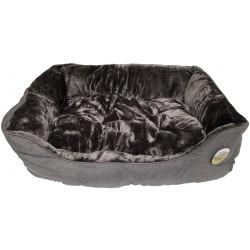 Hundeseng - antracitgrå