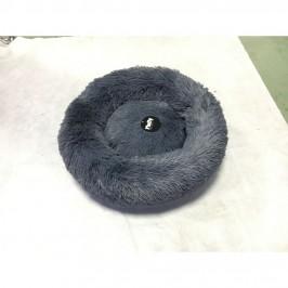 Fluffy hunde- eller katteseng - Koksgrå