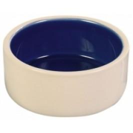 Keramik vand- og madskål