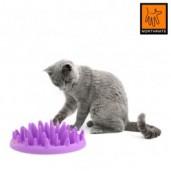 Catch - interaktiv madskål til katten - TILBUD 50%