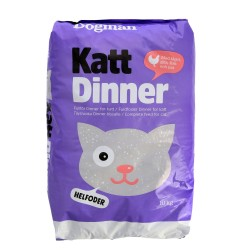 Dinner kattefoder 10kg.